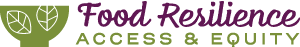 Conference on Food Resilience, Access, and Equity Logo